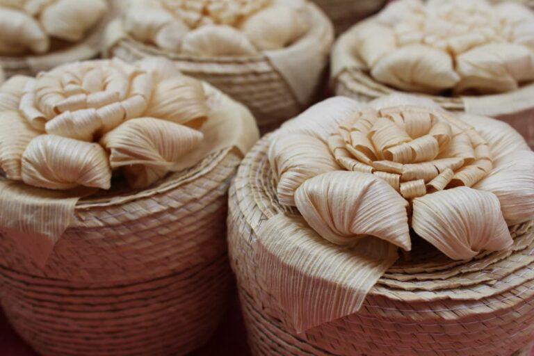 artesanías mexicanas de palma