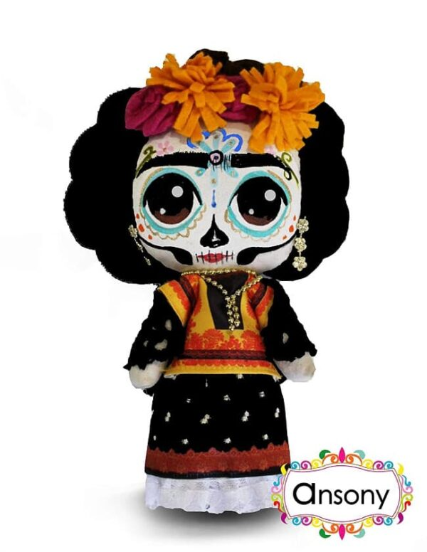 Muneca Frida Catrina