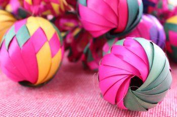 esferas de palma